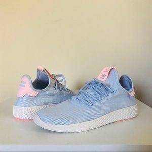 Pharrell Williams Tennis Hu Aero Blue 8.5 Adidas
